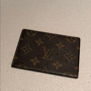Louis Vuitton Card Holder # 67